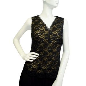 Oh Lacey! Black Top Size Small (SKU 000025)